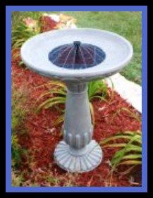alt Solar Birdbath