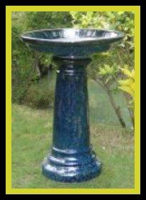 alt Ceramic Birdbath