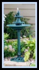 alt Birdbath Fountain
