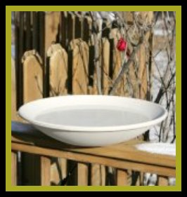 alt Heated Birdbath