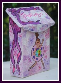 Ballerina Mailbox