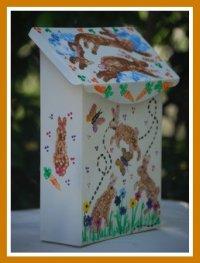 Bunny Hop Mailbox