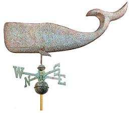 whale weather vane